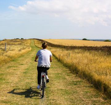 Miedzywodzie is an ideal place for all the bike trip lovers.