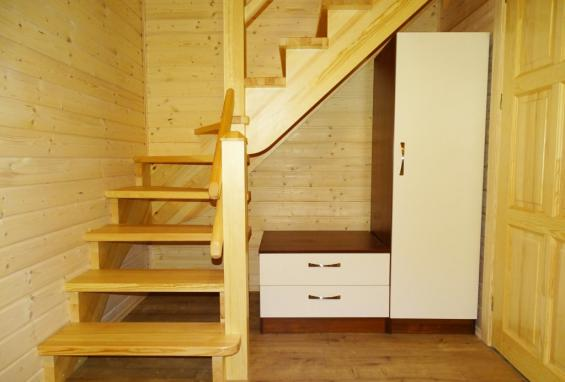 Steps to the attic